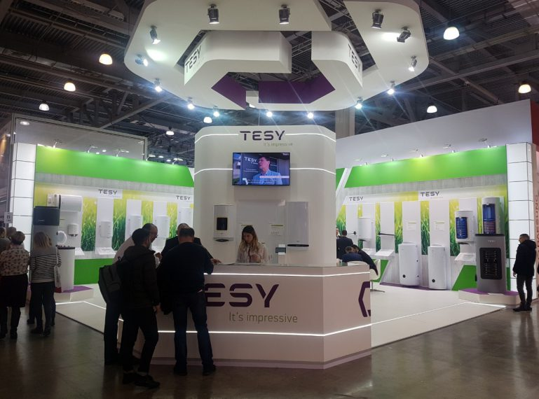 TESY at Aquatherm Moscow 2019
