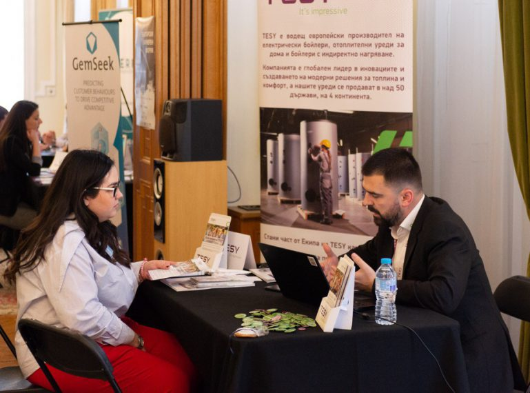 "TESY at ""BG Career Fairs"" exhibition in London"