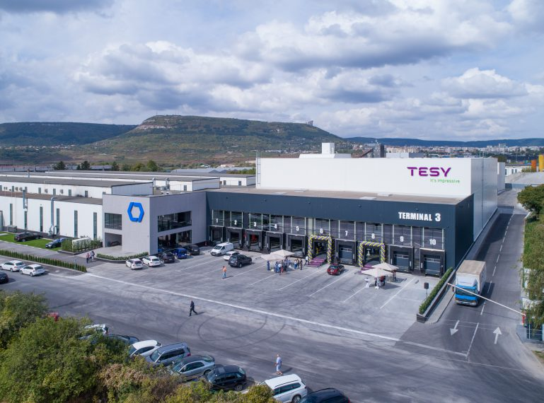 Grand opening of the new TESY Logistic Terminal on 12.09.2019