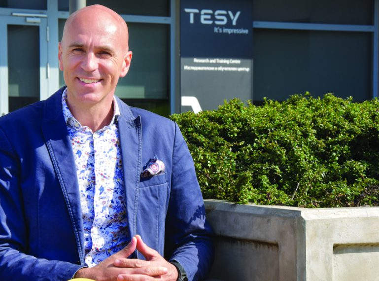 Emmanuel Totev,  Director Sales, Marketing & Logistics at TESY in an interview for CAPITAL