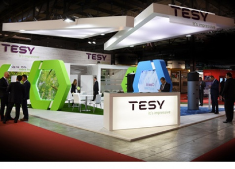 TESY presented its most innovative solutions on the leading exhibition in the world in Milan