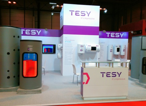 TESY at Climatizacion 2015 exhibition for the first time