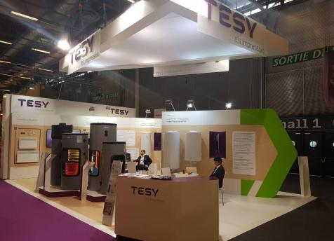 TESY for the first time at Interclima + Elec in Paris