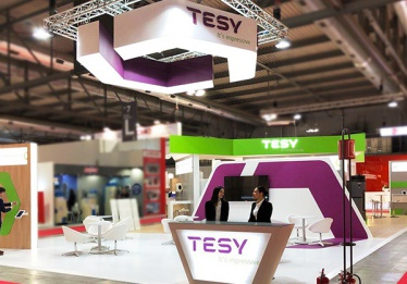 TESY presented its newest last-generation electric water heater BelliSlimo Cloud at Mostra Convegno Expocomfort world trade fair in Milan