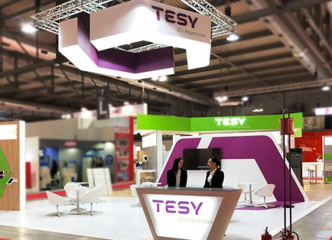 TESY presentedBelliSlimo Cloud at Mostra Convegno Expocomfort world trade fair in Milan