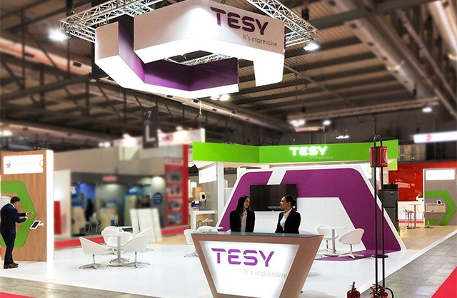 TESY presented  BelliSlimo Cloud at Mostra Convegno Expocomfort world trade fair in Milan