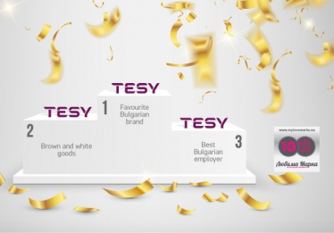 "TESY is awarded in three categories in ""My Love Marks"" competition."