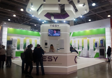 TESY's First Participation in Aquatherm Moscow 2019