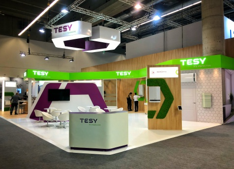 TESY registers a new success at the biggest specialized exhibition on a global scale - ISH 2019 in Frankfurt