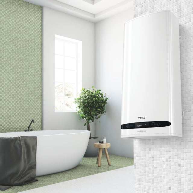 The newest solution for hot water from TESY is called BelliSlimo