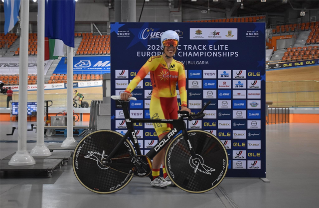 TESY is a sponsor of the European Track Cycling Championship