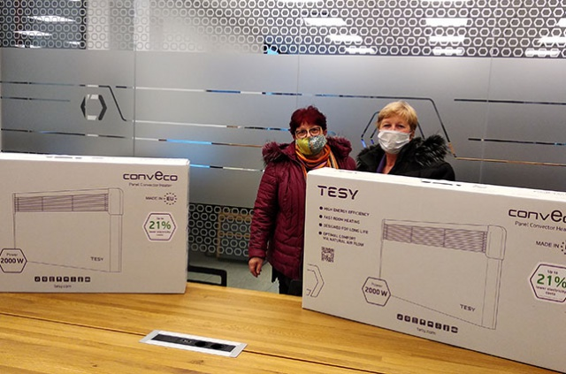 TESY supports the Center for Complex Social Services in Veliki Preslav